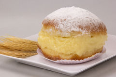 Sonho, Brazilian bakery dream. Brazilian typical sweet. Stock Images