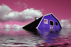 Sonho cor-de-rosa de Sureal Imagens de Stock Royalty Free