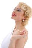 Sonho da mulher nova fotos de stock royalty free
