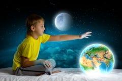 Sonho da noite Fotografia de Stock