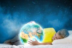 Sonho da noite Imagens de Stock