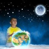 Sonho da noite Imagens de Stock Royalty Free
