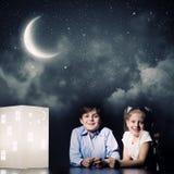 Sonho da noite Fotos de Stock