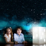 Sonho da noite Imagem de Stock
