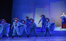"""Sonho de alto mar do """"The do drama da frota-dança do  de seda marítimo de Road†Foto de Stock Royalty Free"""