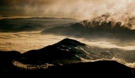 Sonho de Piatra Craiului fotografia de stock
