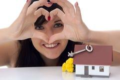 Sonho de própria casa Imagens de Stock Royalty Free
