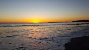 Sonho de um por do sol Fotos de Stock Royalty Free