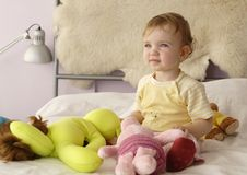 Sonho do bebê Foto de Stock