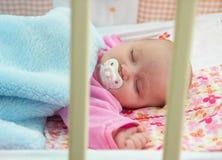 Sonho do bebê Fotografia de Stock Royalty Free