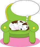 Sonho do cão Imagens de Stock
