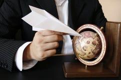 Sonho do homem de negócios Imagens de Stock Royalty Free