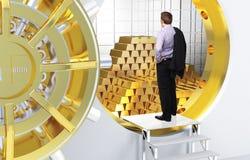 Sonho dourado foto de stock royalty free