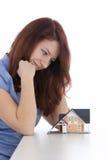 Sonho sobre a casa Imagem de Stock