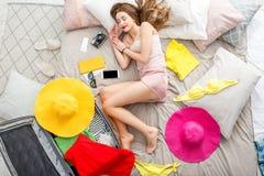 Sonho sobre férias de verão Foto de Stock