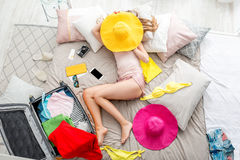 Sonho sobre férias de verão Fotografia de Stock Royalty Free