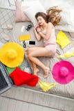Sonho sobre férias de verão Imagem de Stock