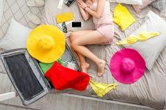 Sonho sobre férias de verão Fotografia de Stock