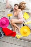 Sonho sobre férias de verão Foto de Stock Royalty Free