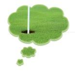 Sonho sobre o golfe Fotografia de Stock Royalty Free