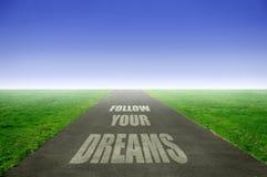 Sonhos Imagens de Stock