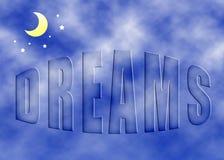 Sonhos imagem de stock royalty free