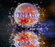 Sonhos fotografia de stock