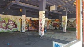 Sonhos abandonados Rockahoola Waterpark Imagem de Stock Royalty Free