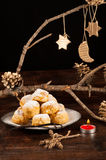 Sonhos Christmas treat Stock Photography