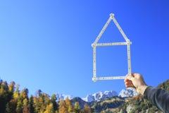 Sonhos da casa Imagens de Stock Royalty Free