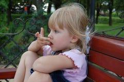 Sonhos da criança Fotografia de Stock
