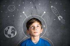 Sonhos da infância imagens de stock royalty free