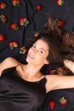 Sonhos da morango Imagens de Stock Royalty Free