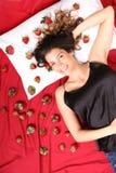 Sonhos da morango Imagem de Stock