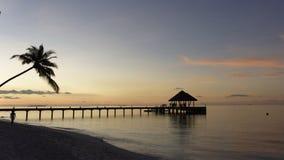 Sonhos de Maldivas fotos de stock royalty free