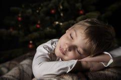 Sonhos de Yfhhe antes do Natal imagens de stock royalty free