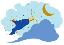Sonhos do bebê Fotografia de Stock Royalty Free