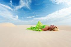 Sonhos do deserto Fotos de Stock Royalty Free