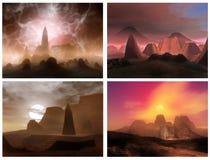 Sonhos do deserto Foto de Stock