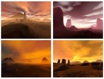 Sonhos do deserto Imagem de Stock