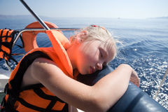 Sonhos do mar Fotos de Stock Royalty Free