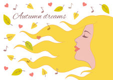Sonhos do outono foto de stock royalty free