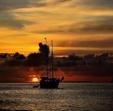 Sonhos 1 do por do sol Imagem de Stock Royalty Free