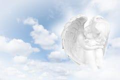 Sonhos dos anjos antes do céu fotos de stock royalty free
