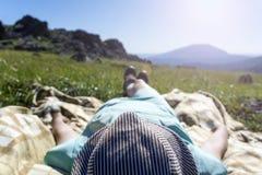 Sonhos no meio-dia do verão fotos de stock