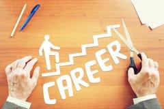 Sonhos sobre o crescimento da carreira Fotografia de Stock Royalty Free