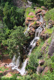 Soni vattenfall i Usambara berg Arkivfoto