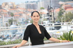 Sonia Braga. Actress Sonia Braga attends the 'Aquarius' photocall during the 69th Annual Cannes Film Festival at the Palais des Festivals on May 18, 2016 in stock photography