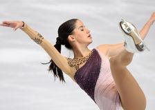 Sonia LAFUENTE (ESP) short program Royalty Free Stock Photos
