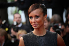 Sonia Rolland. Attends the Premiere of 'Irrational Man' during the 68th annual Cannes Film Festival on May 15, 2015 in Cannes, France Royalty Free Stock Image